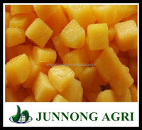 Good quality canned yellow peach diced