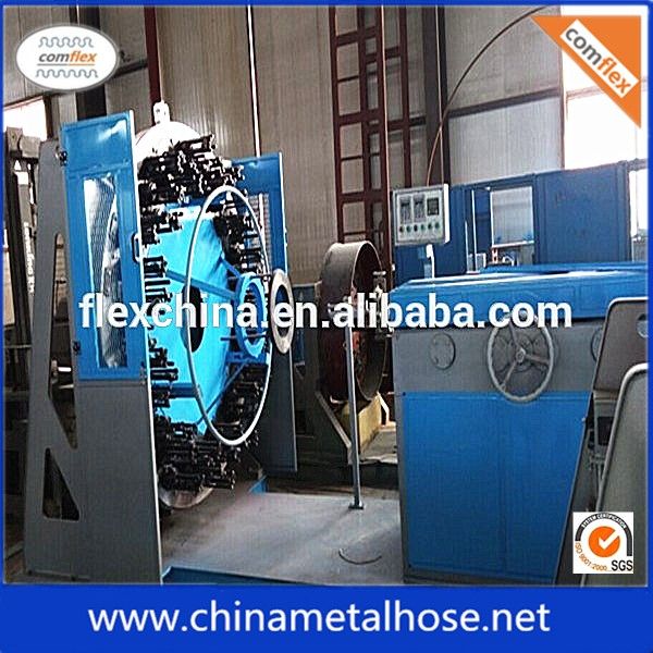 stainless steel flexible hose 16 carrier wire braiding machine manufacturers