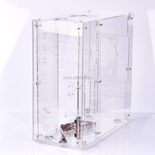 Factory price custom acrylic Plexiglass glass computer case