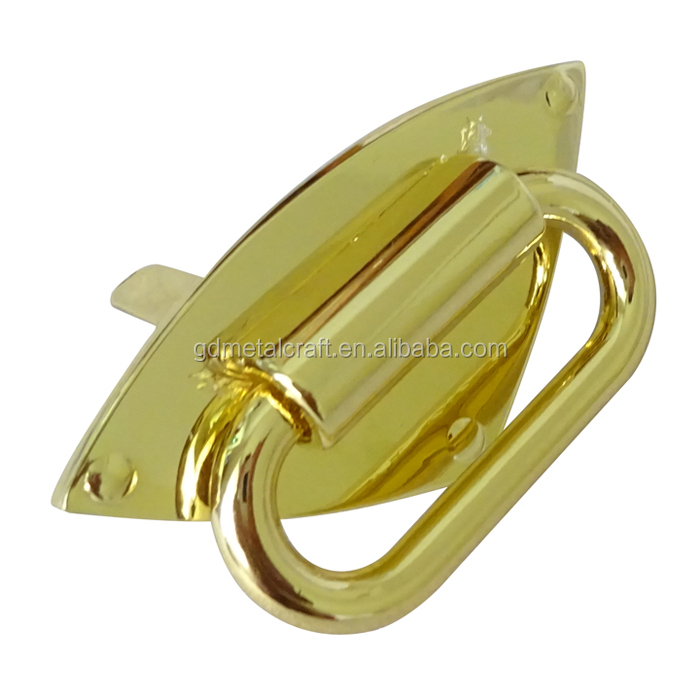 High Quality Cheap Price Zinc Alloy Gold Gunmetal Diamond Strap Anchor Connector