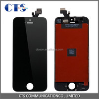 original cheap mobile phone small parts replacement complete assembly touch screen display with digitizer lcd for iphone 5