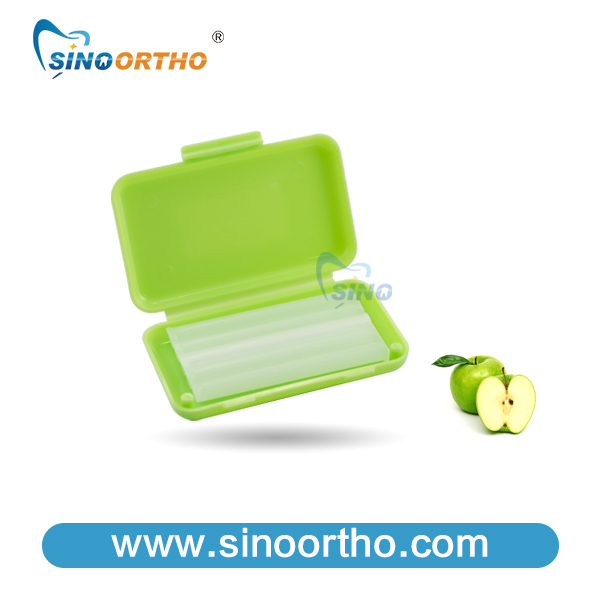 SINO ORTHO new color dental wax orthodontic braces green/red/blue/yellow nive colors available