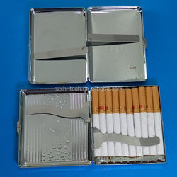 Economic hot sell 100's sized flip top cigarette case