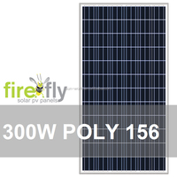 POLY156 Solar PV Panel 300W (A+/A Grade; CE, IEC, TUV, CEC, ISO 9001, ISO 4001, RoHS)