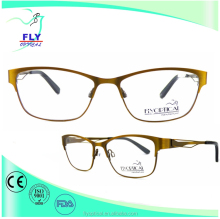 retro eyewear stainless metal optical glasses