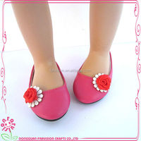 wholesale fashion handmade small doll shoes 18 inch for sale