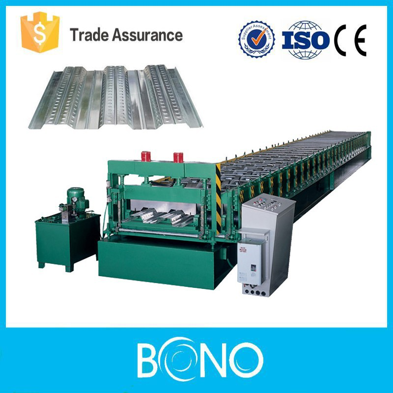 YX series PLC Control Steel Coil Metal Floor Decking Roll Forming Machine