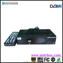 UUvision MPEG-2/MPEG-4 H.264 TV Set Top Box HD DVB-T2 Digital High Definition Video Broadcasting Terrestrial Receiver