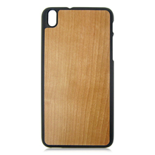 Cherry wood phone cover blank wood case hot sale mobile phone case for HTC 816