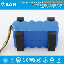 new products KAN Ni-MH 14.4V aa 1500mAh rechargeable battery pack for panel solar,vacuum cleaner, mini segway