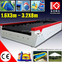 Flatbed Laser Cutting Machine Paraglider Fabrics
