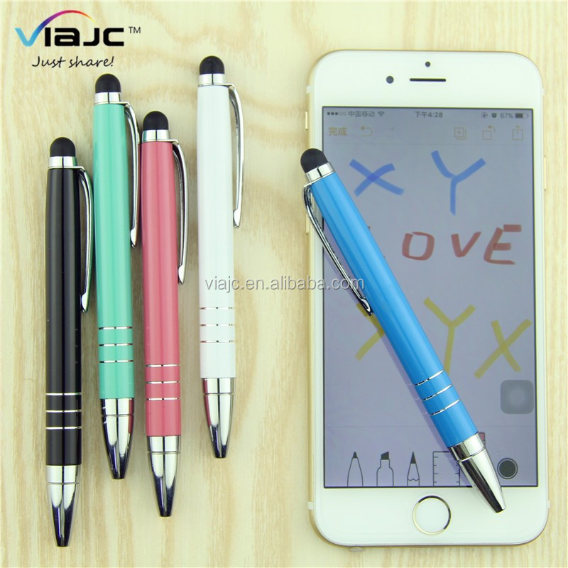 small metal touch screen stylus pen for iphone or ipad