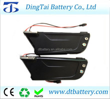 36 volt lithium ion battery 36v 15ah 10s5p down tube battery for electric bicycle
