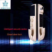 2017 New Products Stainless Steel Keyless Apartment Hotel House Digital Security Biometric Scanner Fingerprint Door Lock