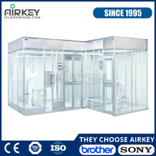 Stainless Steel Organic Wall Modular Clean Room With Air Showe and Pass Box