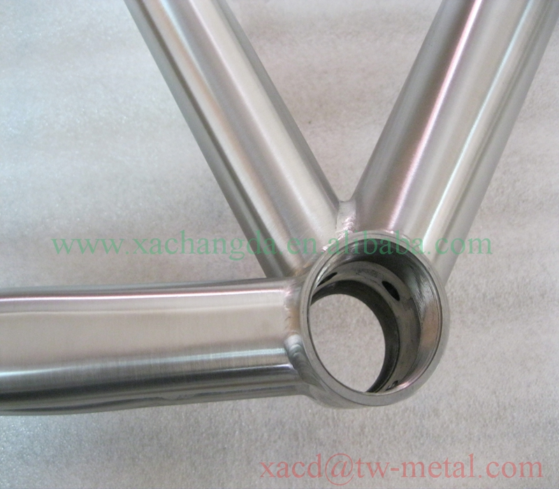 road bike with standard design xacd made titanium road bicycle frame factory direct supply titanium bike frame