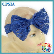 lace headbands for baby girls cute large bow wide lace hair bows