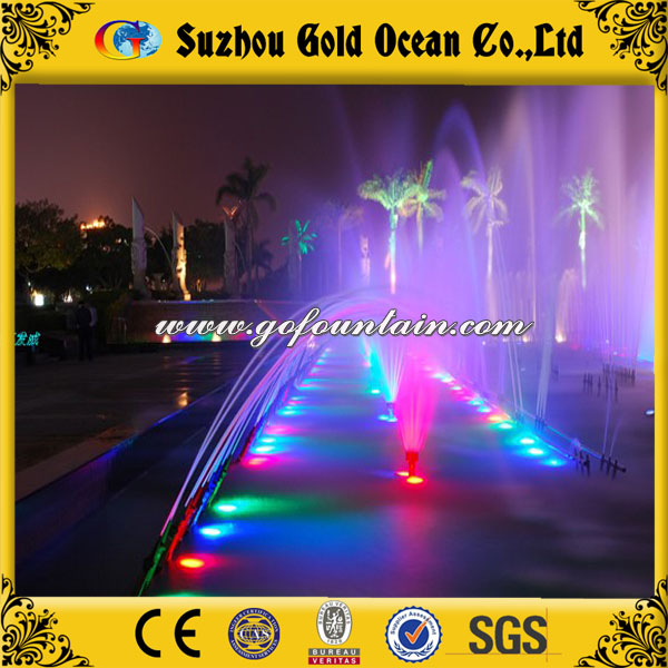 Eco-friendly outdoor indoor advertisement/decoration digital water curtain made in China