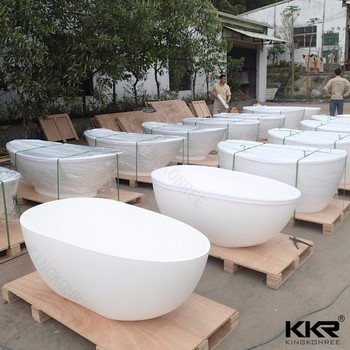 custom size bathtubs 52 inch freestanding stone bathtub
