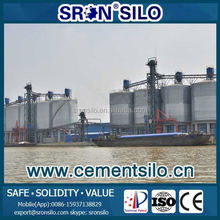 SRON Has Installed in Turkey Silo System for Cement Factory