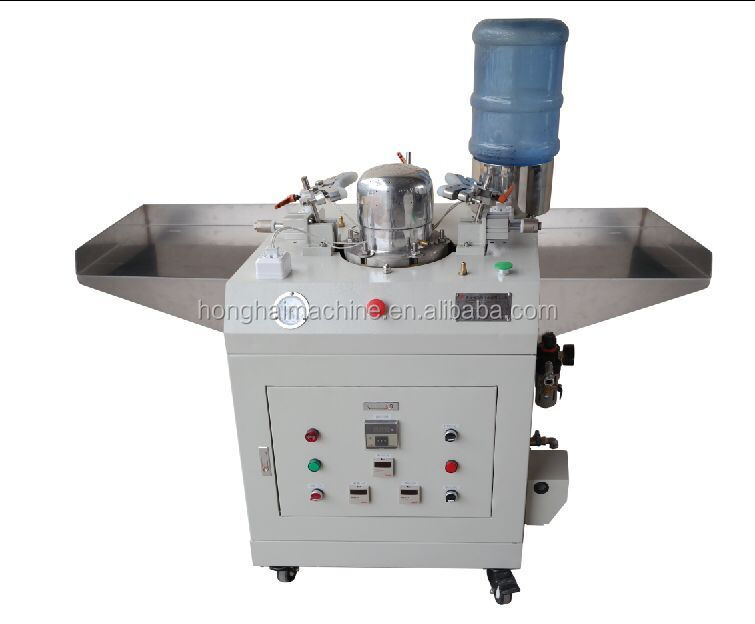 New Automatic Cap Press Ironing Machine with Single Mold