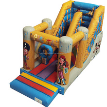 multi jump castle commercial inflatable bouncy castle slide combo customized