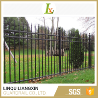 Onsite Checked Manufacturer Wall Strong Customizability China Factory Palisade Fence