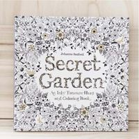 Hot Sale Children And Adult DIY Painting Secret Garden Coloring Book