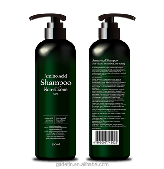 GMPC Factory Anti-dandruff mild natural hair shampoo