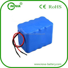 18650 lithium ion battery pack 12v 20ah for Electric Scooter