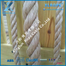 Sisal manila rope using as a decorative rope