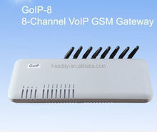 Fast ship! GOIP 8 ports 8 sim cards GSM VOIP Gateway GSM VOIP Wireless Terminal GOIP Gateway Sip Voip GOIP-8 support SIMBANK32