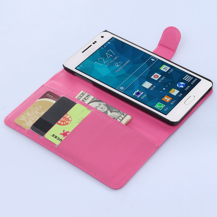 New new coming pu flip cover for samsung for galaxy a7