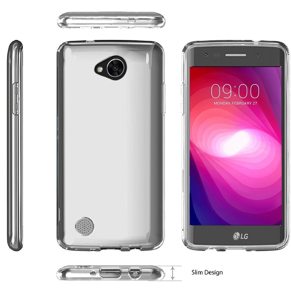 For LG X Power 2 Case,Scratch Resistant TPU Rubber Soft Skin Silicone Protective Case Cover for LG X Power2