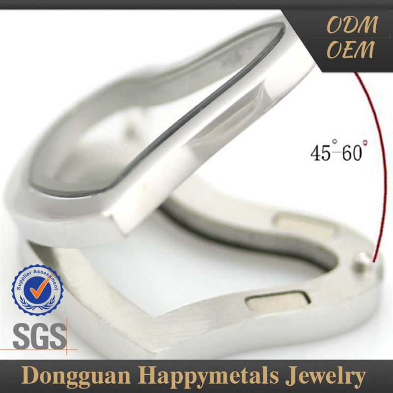 Classic Style Stainless Steel Custom Fitted Pendant Connector