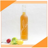 Wholesale Frosted Alcohol Glass Bottle 250ml Cheap Price