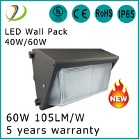 On Sale DLC ETL Approved 5000K 100W LED Wall Pack Light for outdoor