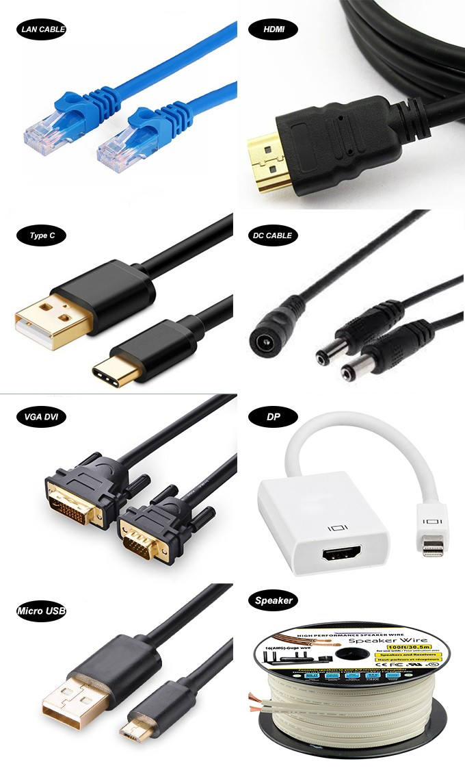 Type C male to vga female adapter 1080p Video Adapter Cable For Tablets Laptop or other Type C devices.