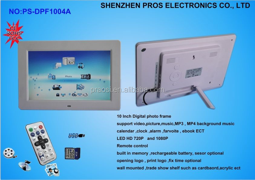 10'' Touch screen self service kiosk with ordering system advertising display/digital signage