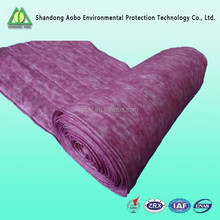 Mass production F5-F8 Non-woven fabric synthetic pocket air filter media