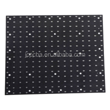 4-Layer PCB Fabrication With Black Soldermask used in led