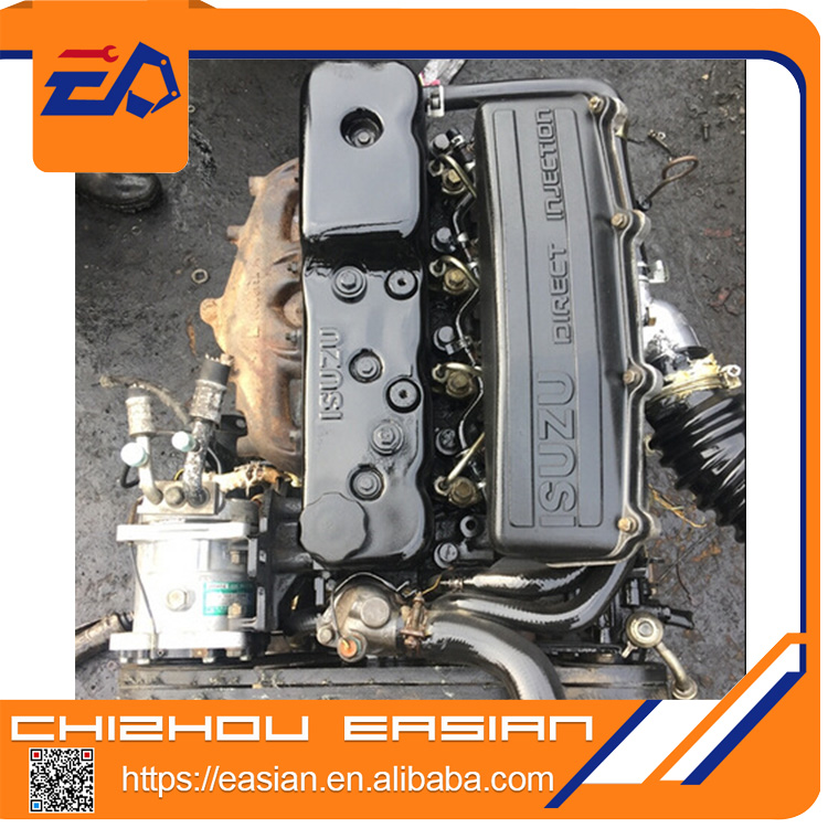 In good condistion USED GENUINE ISUZU 6VD1 complete engine assy for jeep