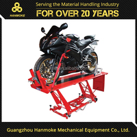 Air hydraulic motorcycle bike scissor lift ramp motorcycle lift for sale