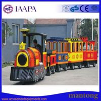Thrill Popular Mini Trackless Train Amusement Park Equipment For Sale