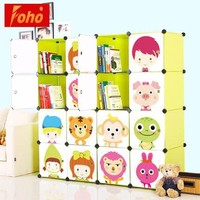 new design fashion stackable plastic storage cubes with lids