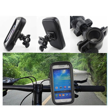 bike accessories waterproof mobile phone pouch bike mount holder Smartphone Bicycle Bike Waterproof Pouch Holster Case