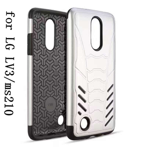A new sense of touch TPU PC combo Universal mobile phone case for LG LV3/ms210