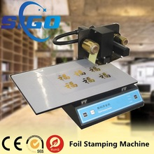 Plateless hot foil stamping machine/Digital hot foil printing machine/automatic foil printer price