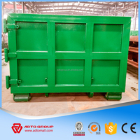 garbage collector truck bin detachable container for sale