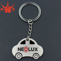 2014 Promotion metal car shape keychain,metal car keychain,car keychain